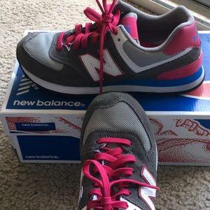 New Balance Classics size 6.5 Pink and Grey